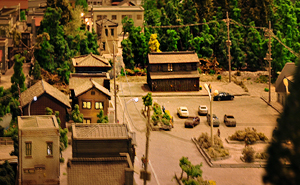 写真:JR岩泉線ジオラマ