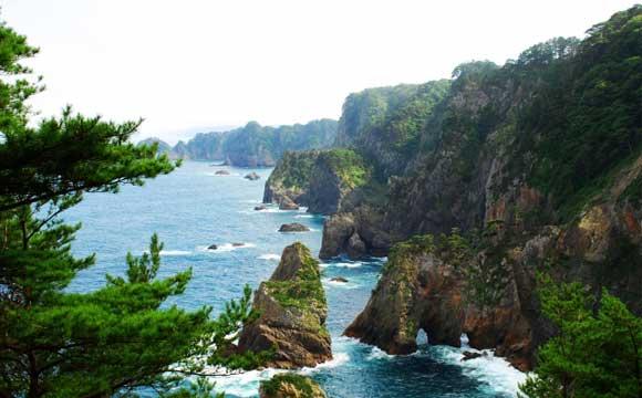三陸海岸の夏を楽しむ